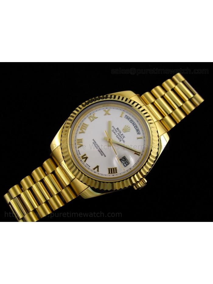 Yellow Gold Rolex Day-Date II Replica